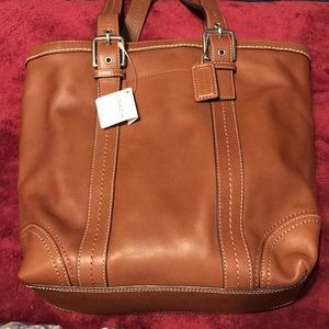Brand new Coach brown tote